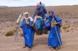 Marokko:  Kamelsafari    –  Djebel Saghro – Trekking   –      Todra- und           Dadeschlucht